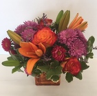 Fall Fantasy from Roses and More Florist in Dallas, TX
