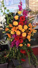 Memories of Fall Standing Spray from Roses and More Florist in Dallas, TX