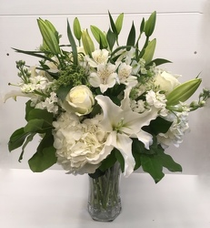 Lilies & Lace from Roses and More Florist in Dallas, TX
