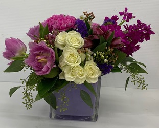 Luscious Lavender from Roses and More Florist in Dallas, TX