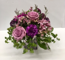 Purple Passion from Roses and More Florist in Dallas, TX