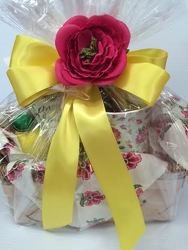 Sweet Tea Basket from Roses and More Florist in Dallas, TX