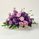 Purple Pleasures from Roses and More Florist in Dallas, TX