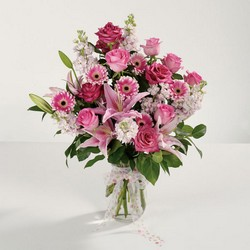 Pink Love from Roses and More Florist in Dallas, TX