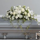 Loving Memories Casket Spray from Roses and More Florist in Dallas, TX
