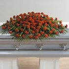 A Life Well Lived Full Casket Spray from Roses and More Florist in Dallas, TX