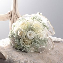 Bridal Queen Bouquet from Roses and More Florist in Dallas, TX