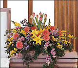 Blooming Glory Casket Spray from Roses and More Florist in Dallas, TX