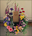 Cremation Urn Wreath from Roses and More Florist in Dallas, TX