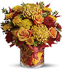 Golden Leaves from Roses and More Florist in Dallas, TX