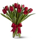 Radiantly Red Tulips from Roses and More Florist in Dallas, TX