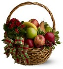 Holiday Fruit Basket from Roses and More Florist in Dallas, TX