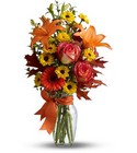 Burst of Autumn from Roses and More Florist in Dallas, TX