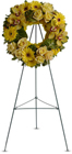 Circle of Sunshine from Roses and More Florist in Dallas, TX