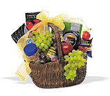 Gourmet Picnic Basket from Roses and More Florist in Dallas, TX
