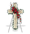 Hope and Honor Cross from Roses and More Florist in Dallas, TX